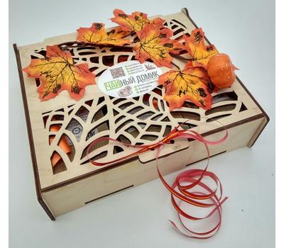 Чайная коробочка резная - 2 вида чая